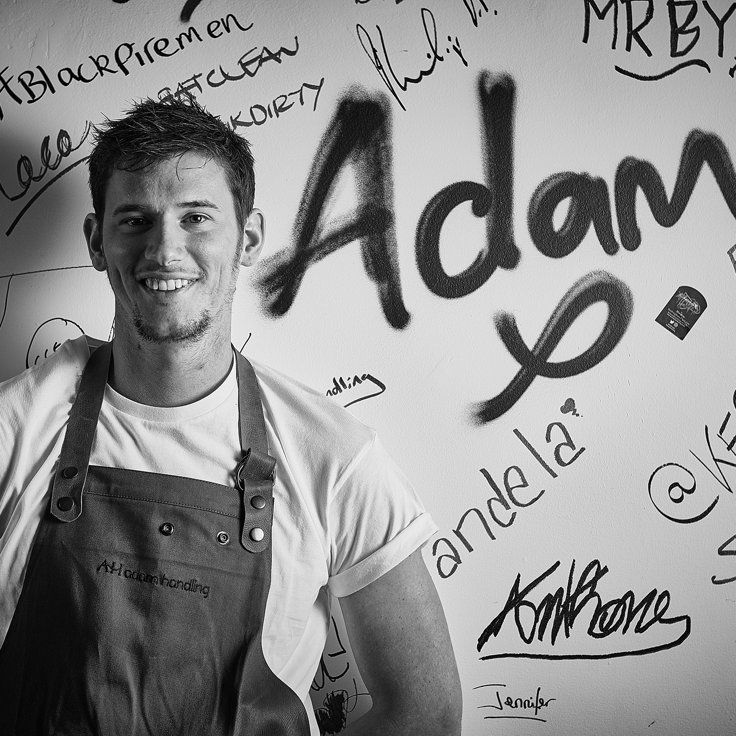 Adam Handling,  leading chef and restaurateur - Ambassador, Corporate Services