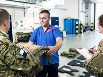 Colchester Garrison, UK - huge range of services
