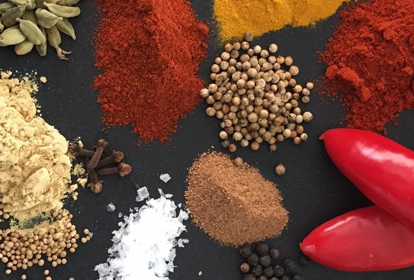 Picture of spices