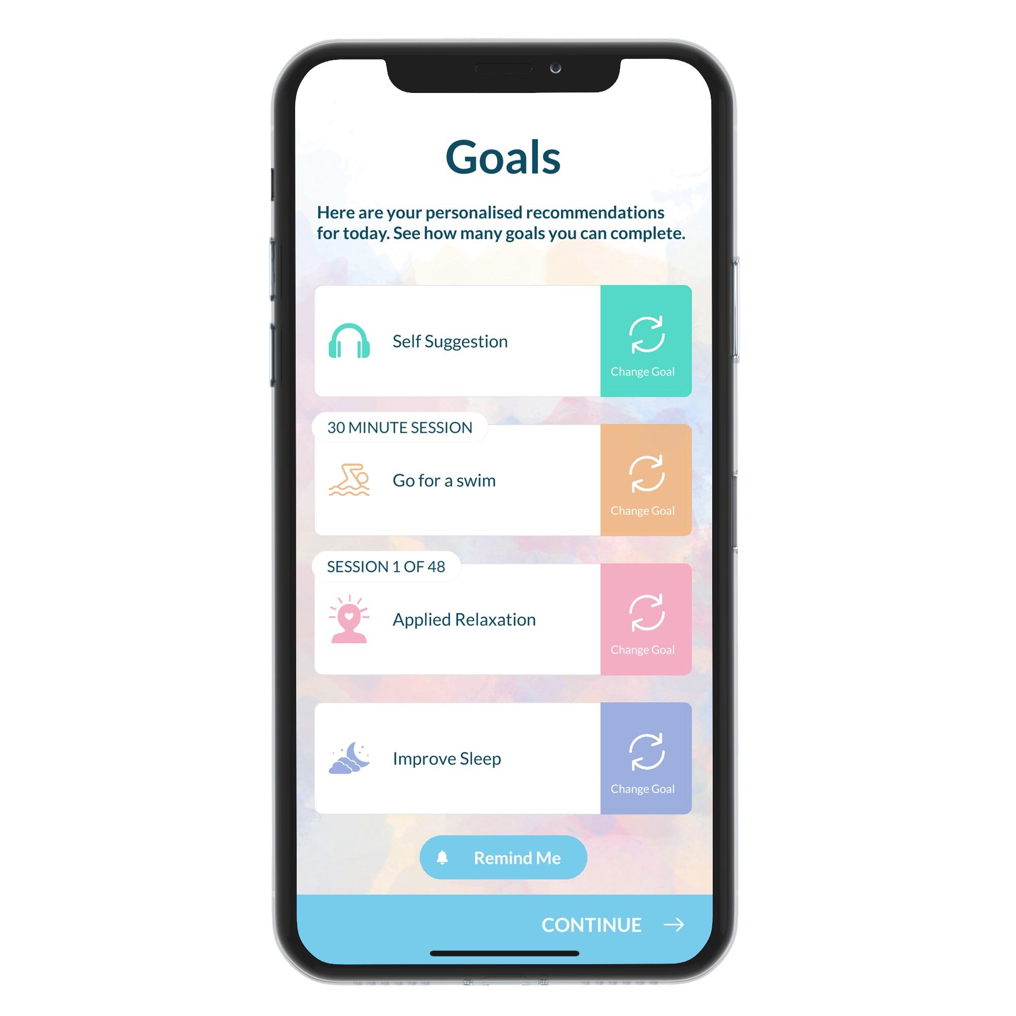 Thrive Mental Wellbeing app
