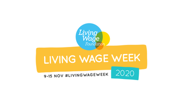 Living wage week 2020 logo