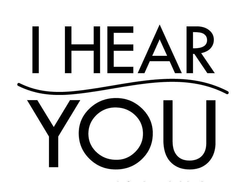 I Hear You logo