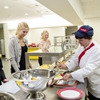 Sodexo's open kitchen shows students how we keep their food safe
