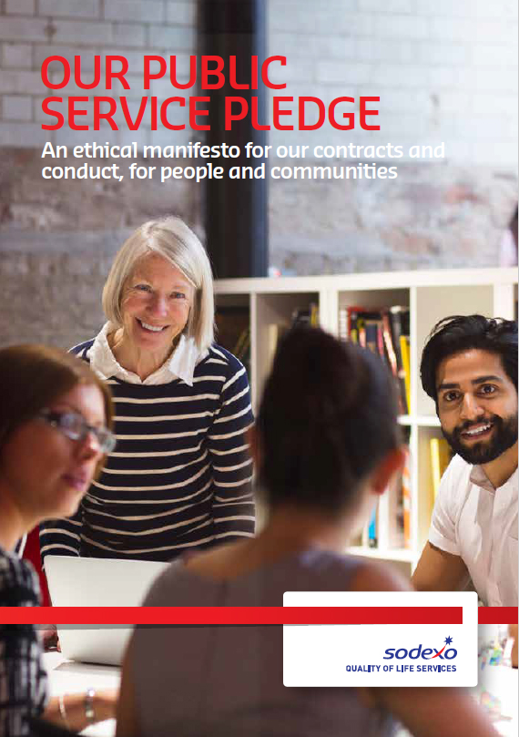 Public service pledge booklet