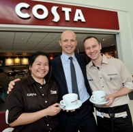 Sodexo opens first fully-licensed Costa
