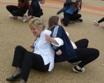 Health and wellbeing lesson for Salford schoolchildren