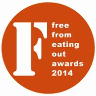 Sodexo sponsor new FreeFrom Eating Out Awards