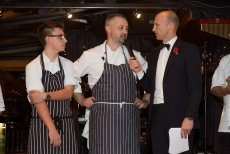 Rugby star and celebrity chefs set sail for Springboard fundraiser