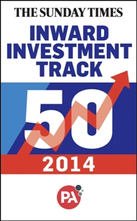 Sodexo No. 3 in Sunday Times Inward Investment Track 50