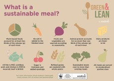 Sodexo and WWF pilot Green and Lean meals