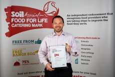 Sodexo food production manager recognised as Catering Mark Champion