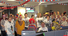 Sodexo takes the call for Red Nose Day 2015