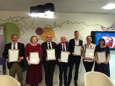 Sodexo employees are honoured for the completion of IFM programme