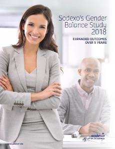 Sodexo gender balance study front cover