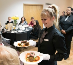 Perth College UHI students get a taste of hospitality at Sodexo's craft skills week