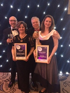 Sodexo's winners at AHCP awards